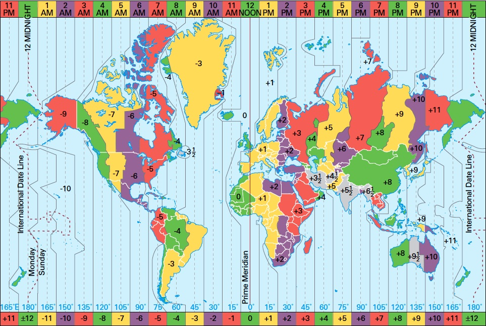SWDTeam Forums - China time zone map